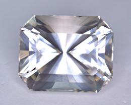 No Treatment  185 Ct Topaz Precision Fancy  Brilliant Cut Gemstone