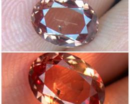 1.635(ct)Stunning Color Change Garnet From Mahenge Tanzania