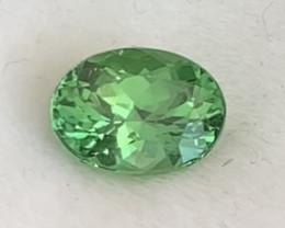 Pretty Green Oval Tsavorite Garnet - Tanzania