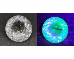 3.60 Cts Rare Top Color Change Fluorescent Hyalite Opal $2500