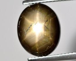 Black Star Sapphire 6.83 Cts Natural Black Color Gemstone