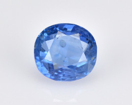 Ceylon Sapphire 0.76 Cts Natural Blue Color Gemstone