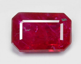 Pigeon Blood Ruby 0.61 Cts Very Rare Red Color Natural Gemstone