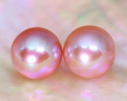 8.0mm 7.53Ct Natural Australian South Sea Purple Color Pearl B2426