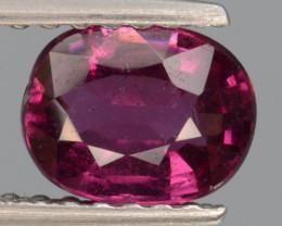Natural Rhodolite Garnet  1.04 Cts, Top Luster