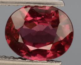 Natural Rhodolite Garnet   1.16  Cts, Top Luster