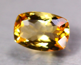 6.86Ct Natural Yellow Citrine Octagon Cut Lot Z135