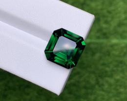 10.39 Cts Natural Basil Green Tsavorite – 13mm