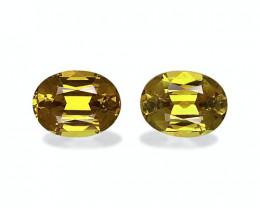 3.30 Cts Natural Golden Yellow Grossular Garnet – 8x6mm Pair
