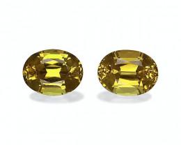 3.65 Cts Natural Golden Yellow Grossular Garnet – 8x6mm Pair