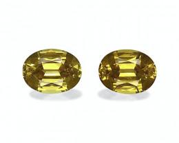 3.46 Cts Natural Golden Yellow Grossular Garnet – 8x6mm Pair