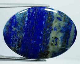 38.85 ct Natural Lapiz lazuli Oval Cabochon  Gemstone