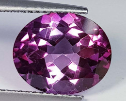 5.76 Ct Top Quality Oval Cut Natural Pink Topaz