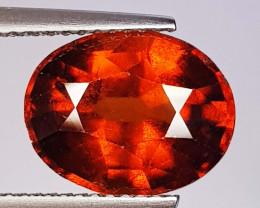 5.33 ct  AAA Grade Gem Oval Cut Natural Hessonite Garnet
