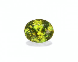 3.33 Cts Natural Lime Green Sphene – 10x8mm Madagascar
