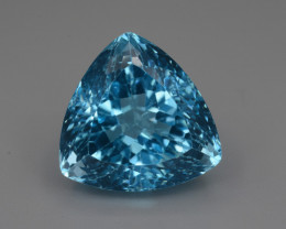 23.73 Cts Natural Blue Topaz Top Color Gemstone