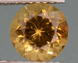 1.31 Cts, AAA Natural Heliodor Top Color Gemstone.