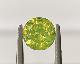1.04 CT Diamond Gemstones yellow top color good luster