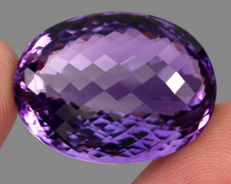 58.43  ct Natural Earth Mined Top Quality Unheated Purple Amethyst,Uruguay