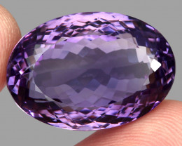 42.36  ct Natural Earth Mined Top Quality Unheated Purple Amethyst,Uruguay
