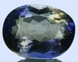 WONDERFUL~ 1.90 Cts Natural Blue Iolite Oval Cut Tanzania