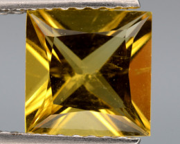1.29 Cts, Natural Heliodor Top Color Gemstone.