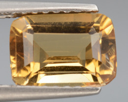 Beautiful Natural Heliodor 1.43 Cts Top Color Gemstone.