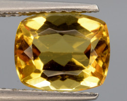 1.68 Cts, Natural Heliodor Top Color Gemstone.