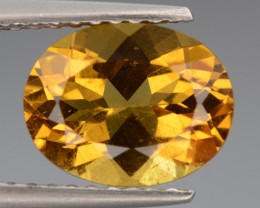 1.78 Cts, Natural Heliodor Top Color Gemstone.