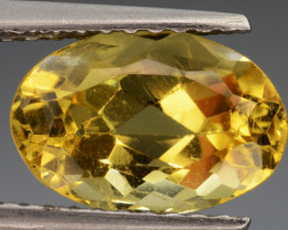 1.93 Cts, Natural Heliodor Top Color Gemstone.