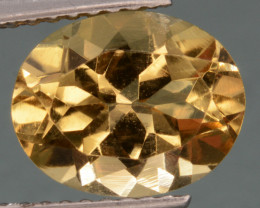 2.35 Cts, Natural Heliodor Top Color Gemstone.