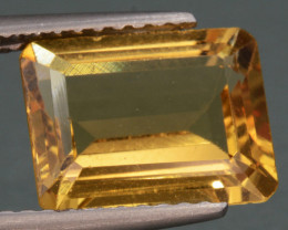 2.59 Cts, Natural Heliodor Top Color Gemstone.