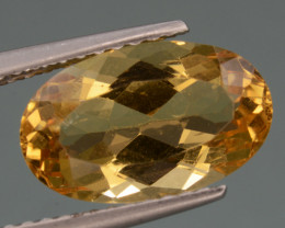 2.62Cts, Natural Heliodor Top Color Gemstone.