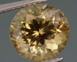 3.47 Cts, Natural Heliodor Top Color Gemstone.