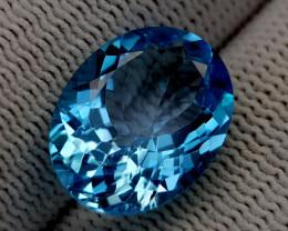 10CT BLUE TOPAZ BEST QUALITY GEMSTONE IIGC94