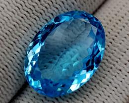 12.55CT BLUE TOPAZ BEST QUALITY GEMSTONE IIGC94