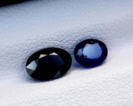 1.35CT BLUE SAPPHIRE HEAT BE BEST QUALITY GEMSTONE IIGC94
