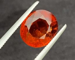 4.38 Cts Natural Hessonite  Gemstone
