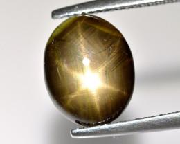 Black Star Sapphire 5.40 Cts Natural Sapphire Gemstone