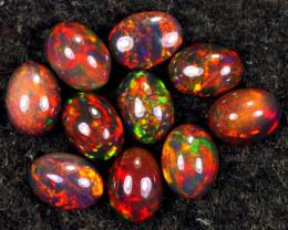 5.63cts Natural Ethiopian Welo Smoked Opal LOTS / MA2066