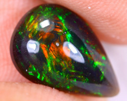 1.45cts Natural Ethiopian Welo Faceted Smoked Opal / MA2078