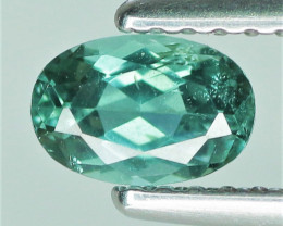 0.50 Cts Untreated Bluish Green Tourmaline Natural Gemstone