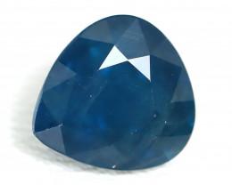 Sapphire 1.84Ct Pear Cut Natural Australian Parti Sapphire C2507