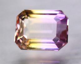 3.46ct Natural Bi Color Ametrine Octagon Cut Lot GW9350