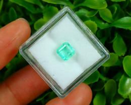 Muzo 1.43Ct Natural Colombian Green Color Muzo Emerald A2523