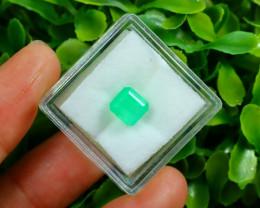 Muzo 1.67Ct Natural Colombian Green Color Muzo Emerald A2534