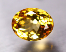 9.49ct Natural Yellow Citrine Oval Cut Lot V8192