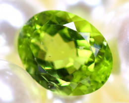 Peridot 2.52Ct Natural Pakistan Himalayan Green Peridot E2906/A10