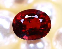 Tourmaline 1.87Ct Natural Orangey Red Color Tourmaline E2911/B48