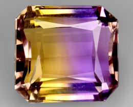 10.74Ct Bolivian Ametrine  Top Quality Gemstone AMT 12